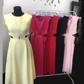 одежда, платья из софт синтетики